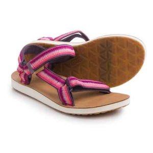 Teva Universal Ombré Raspberry Sandals